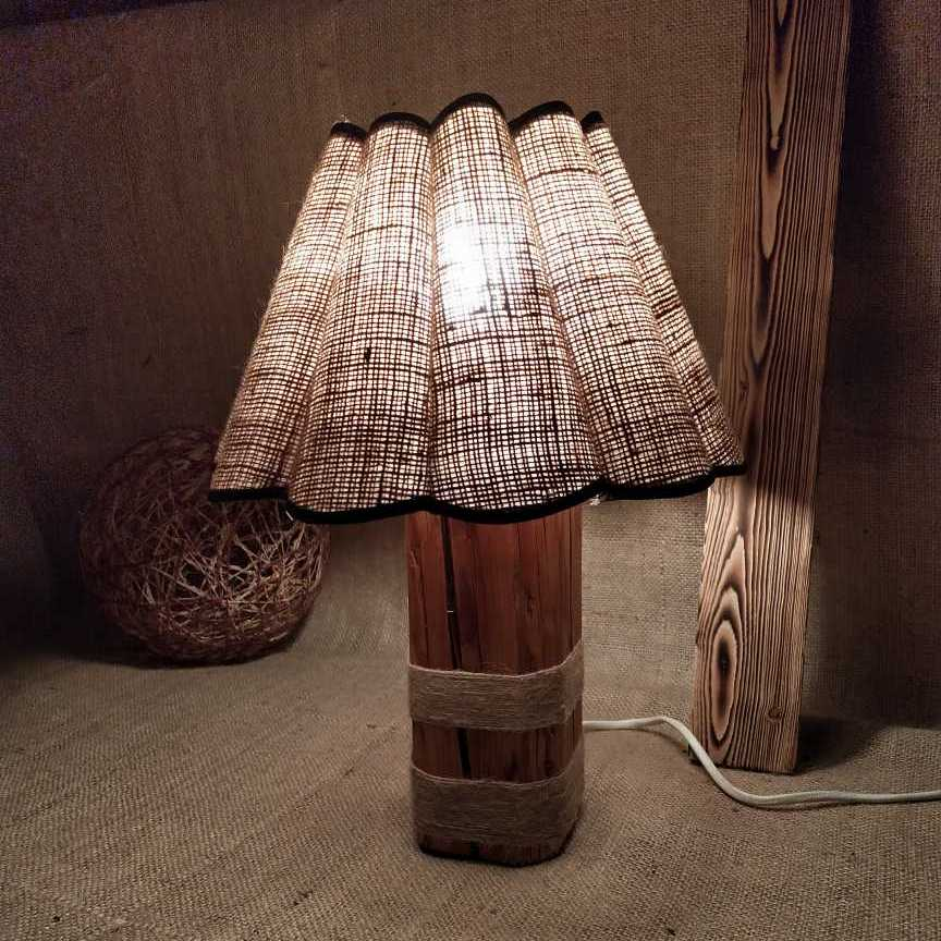 Lampshade From Old Wood