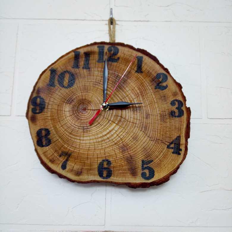 Tree Wood Wall Clock
