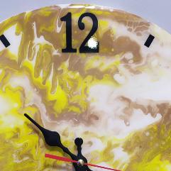 ساعة حائط ايبوكسي