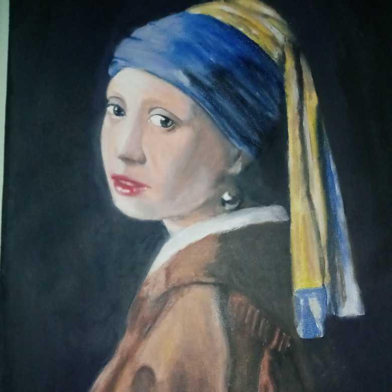 لوحة الفتاة ذات القرط اللؤلؤي