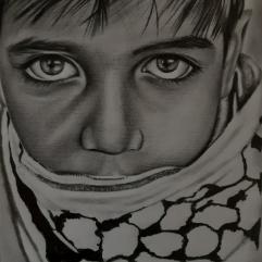 بورتريه الطفل الفلسطيني