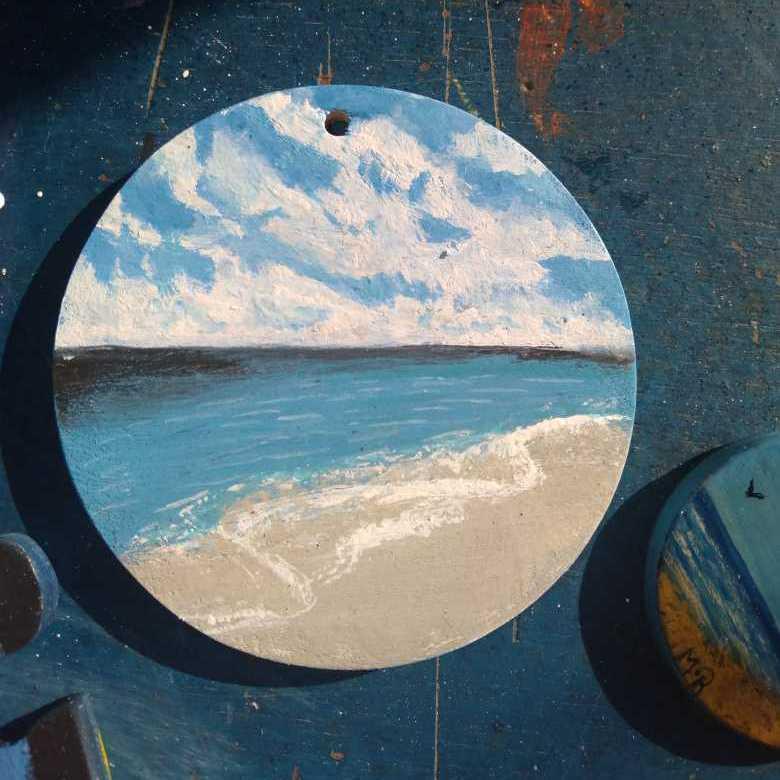 هدوء البحر