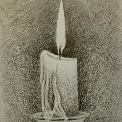 الشمعة