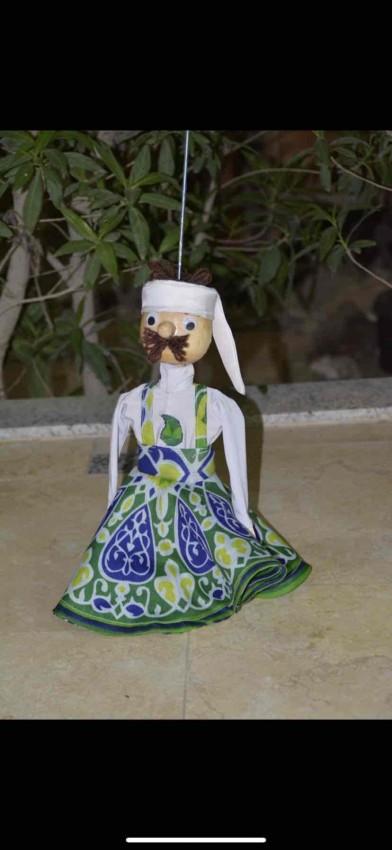 (راقص التنورة  (عروسة ماريونيت