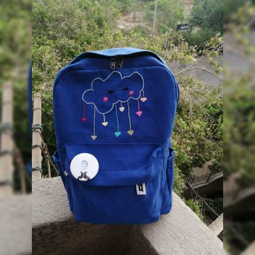 Embroidered Back Pack