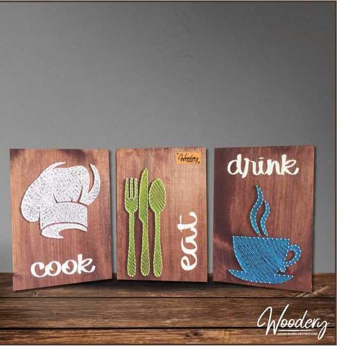 (المطبخ السعيد (فن الخيوط