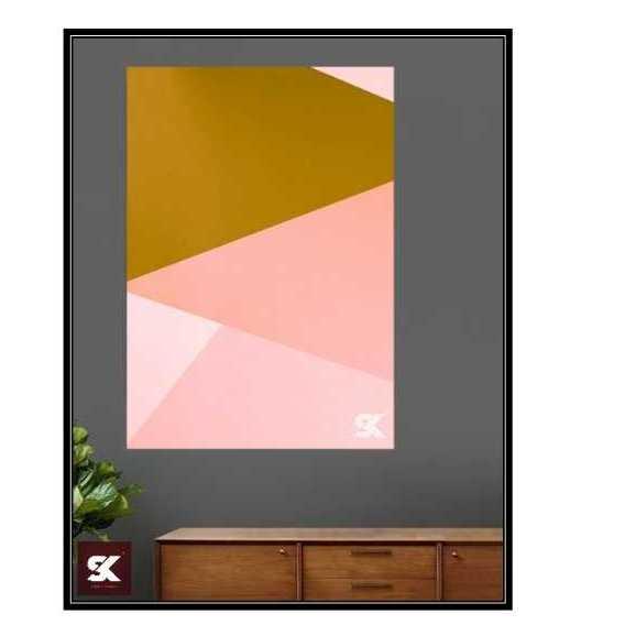 Geometric Abstract Artwork 2