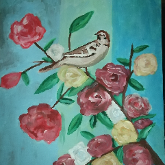 غصن الورود
