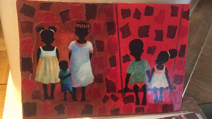 لوحة أفريقية