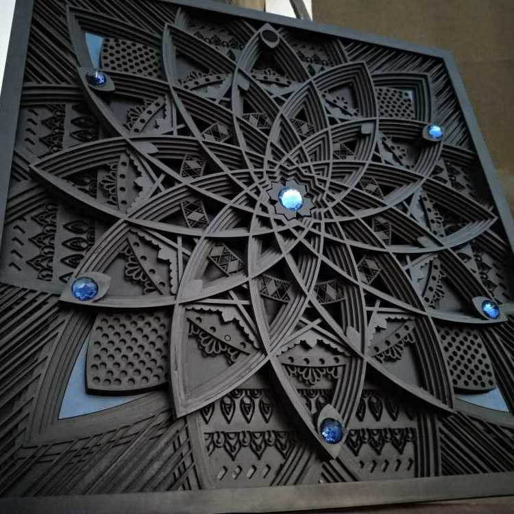 Black Rose (Laser Engraving)