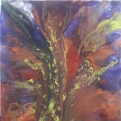 Acrylic Pouring Artwork
