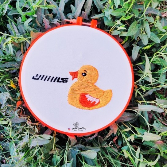 Duck Embroidery