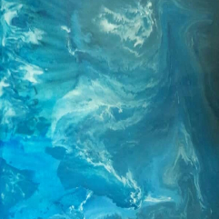 Depth Of The Sea (Acrylic Pouring)
