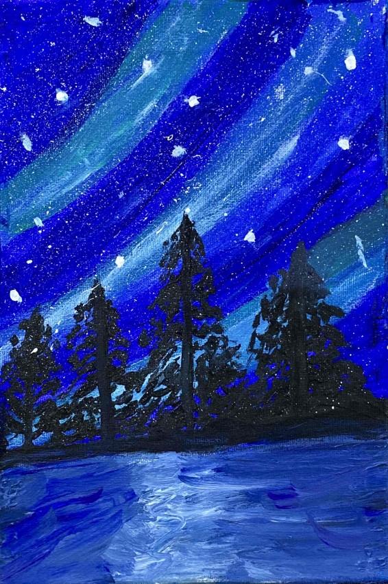 غابة والفضاء