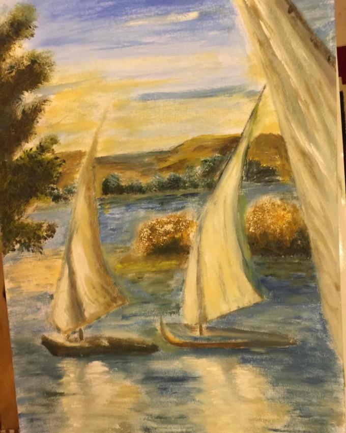 نهر النيل الجميل