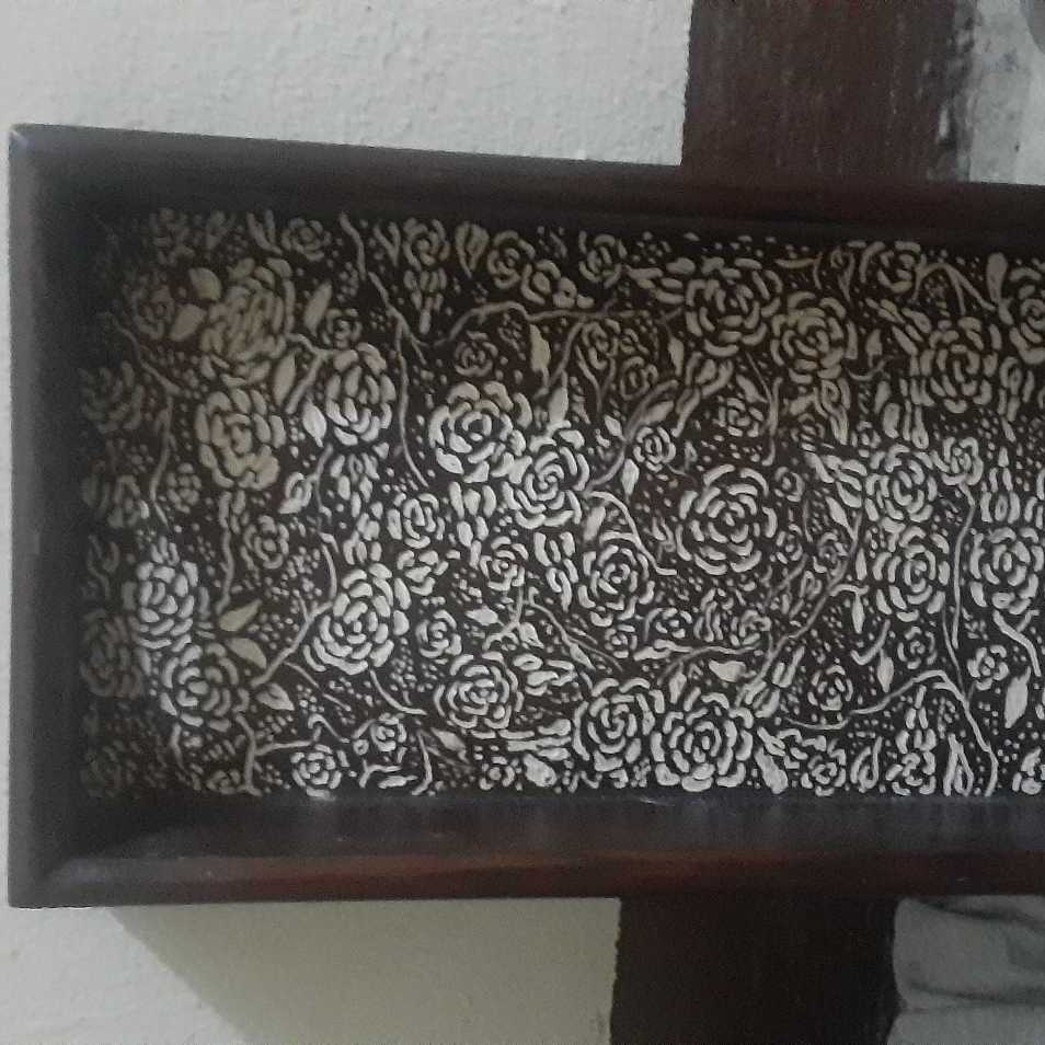 Serving Tray (Wood Engraving)