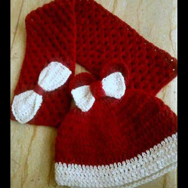A Winter Crochet Set