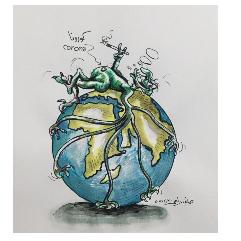 كاريكاتير ٣