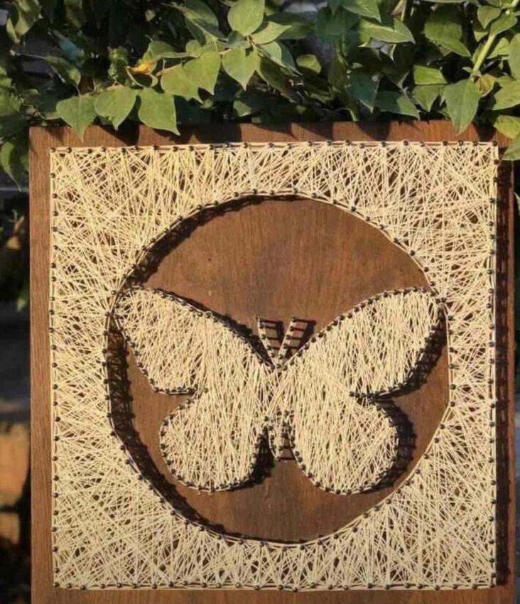 Butterfly (String Art)
