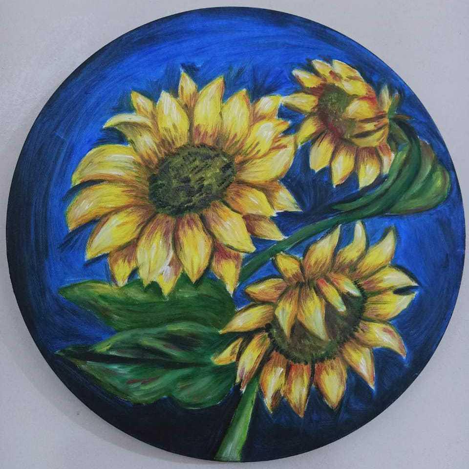 زهور عباد الشمس