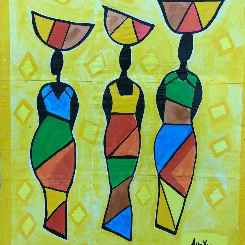 فتيات افريقيات