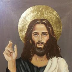لوحة السيد المسيح