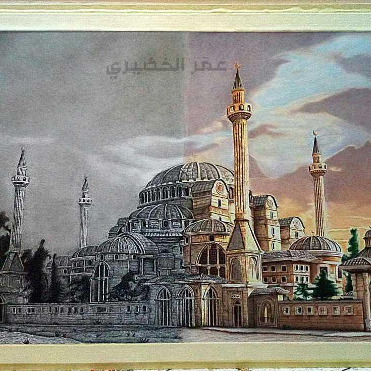 مسجد آيا صوفيا بتركيا