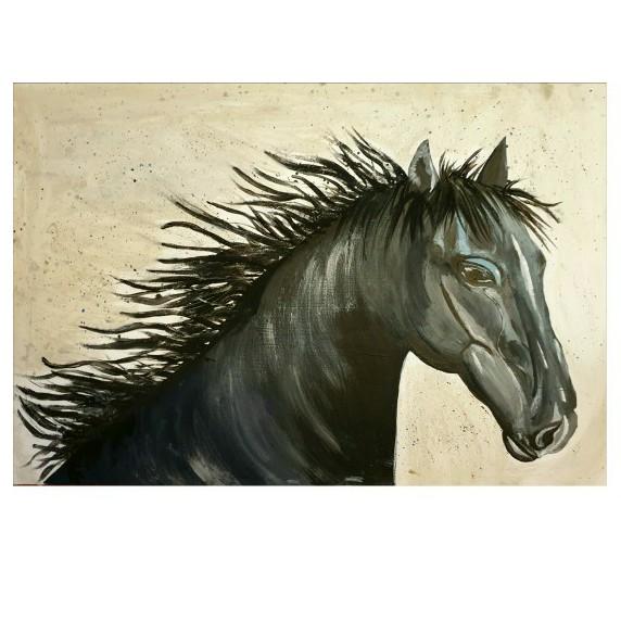 الحصان الأسود