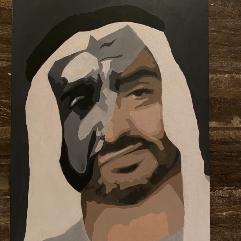الشيخ زايد x الشيخ محمد