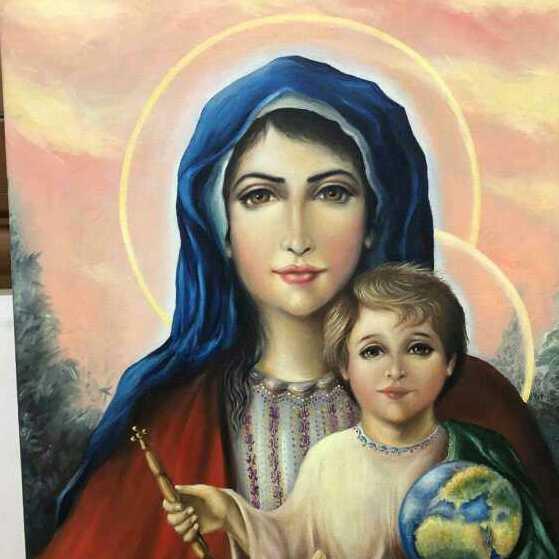 الام الطاهره مريم