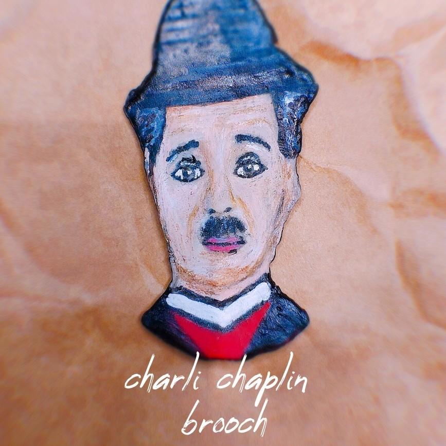 بروش تشارلى شابلن