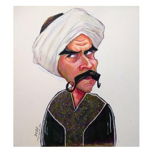 Elkabeer Caricature Portrait