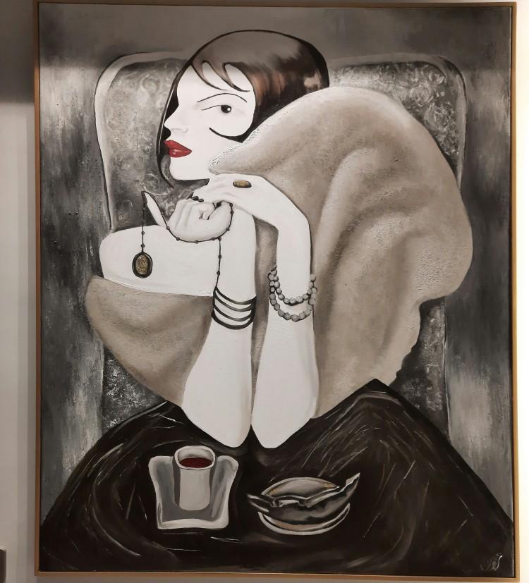 فنجان القهوه و الانتظار