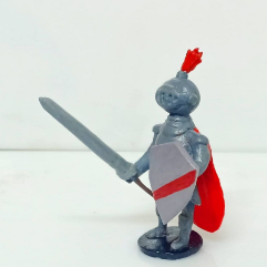 Model Of A Knight