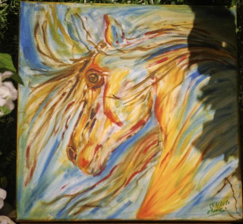 حصان خيالي