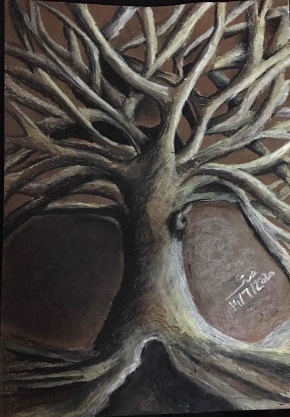 الشجرة الحزينه