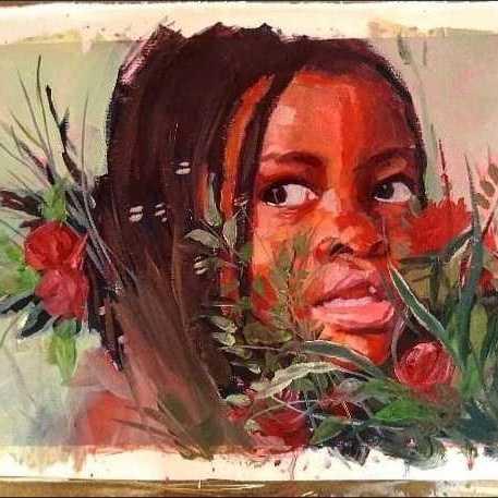 الفتاة الافريقيه