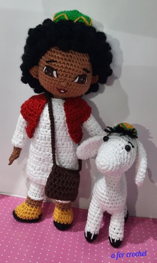 Bakkar & Rashida Amigurumi Dolls