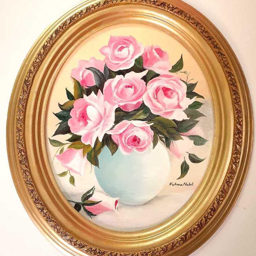 الورود البينك