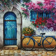 مدينة سانتورينى,اليونان