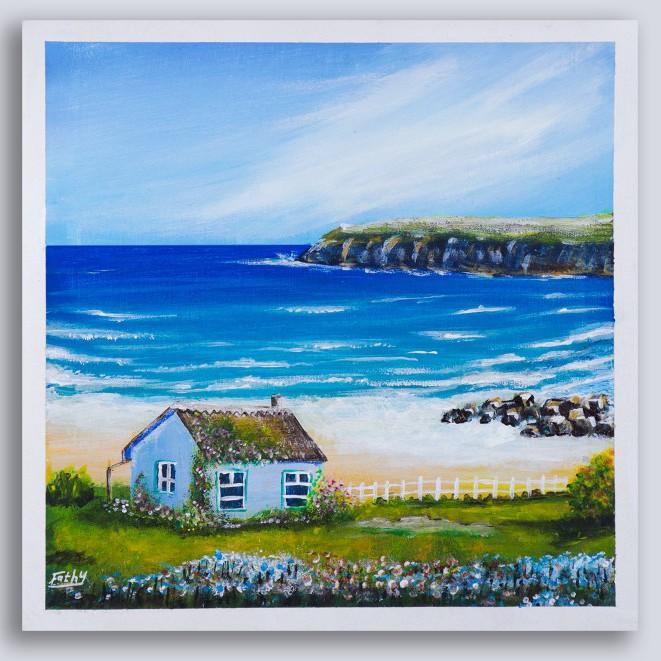 بيت بجوار الشاطئ
