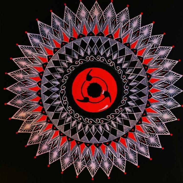 Eye of Sharingan ( Mandala)